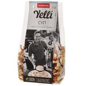 """Yelli суп с рисом и кукурузой """"чаудер"""" 190г"""