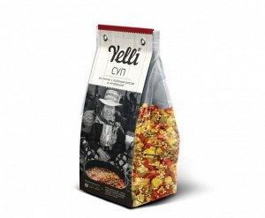 Yelli суп из киноа с красным рисом и чечевицей 250г