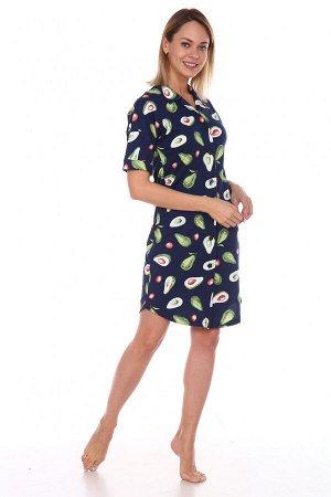 Туника-рубашка 1123 авокадо
