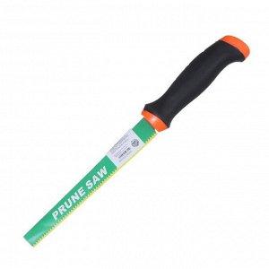 Ножовка садовая ручка двух компонентная пластик зеленая  см