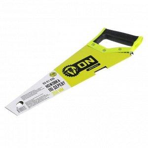 Ножовка по дереву ON 03-01-835, двусторонняя заточка, закаленый зуб 8 мм, 350 мм