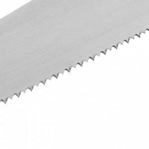 """Ножовка по дереву """"ИЖСТАЛЬ"""", серия ЛЮКС, 400 мм, шаг 4 мм, толщина 1 мм, ГОСТ"""
