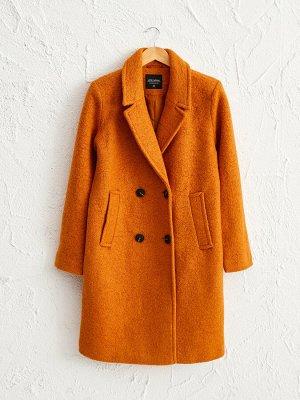 Пальто Воротник: Стойка Тип товара: Пальто Форма: Стандарт Длина: Длинные Узор: Прямой крой Капюшон: Без капюшона Материал подкладки: Подкладка из тафты РАЗМЕР: 34, 36 ЦВЕТ: Ochre СОСТАВ: Основной мат