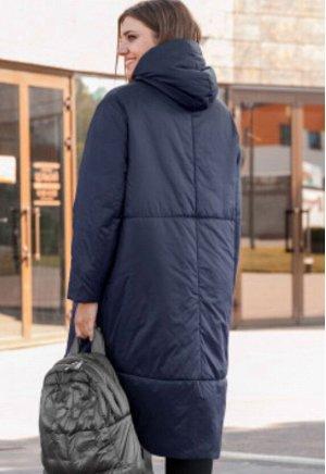 """Пальто Молодежное пальто в стиле """"БОХО"""" с капюшоном на стойке, из ткани с водоотталкивающим эффектом, на прохладную осень/ теплую зиму.  Уникальный бельгийский утеплитель ISOSOFT, который при практиче"""