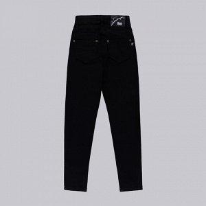 Брюки ДЕВ черный Страна: Турция Производитель: A-YUGI Материал: 95% хлопок, 5% эластан Пол: ДЕВ Описание товара: Джинсовые брюки для девочки с карманами
