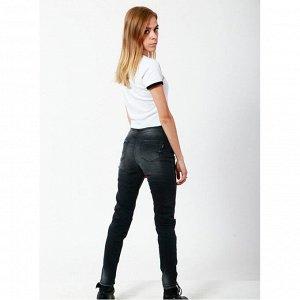 Джинсы ДЕВ джинс Страна: Турция Производитель: A-YUGI Материал: 95% хлопок, 5% эластан Пол: ДЕВ Описание товара: Джинсы для девочки. Модель дополнена принтом и разрезами на коленях.