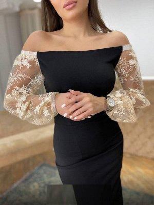 Платье Ткань плотный трикотаж В размер