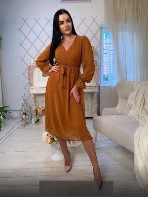 Платье Ткань турецкий шифон в размер