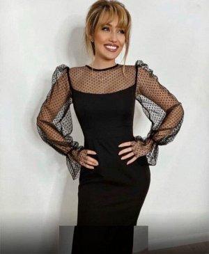 Платье Ткань:  Трикотаж Длина платья 105см
