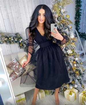 Платье Длина размер 42-44 -115см              размер 46-48 - 118см