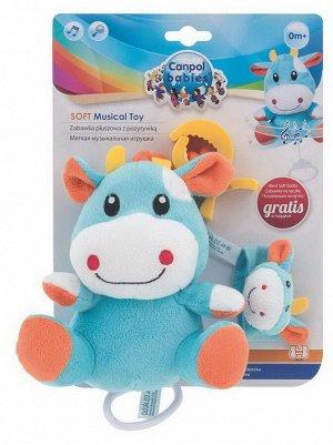 Музыкальная игрушка Canpol Babies Подвеска Корова мягкая12