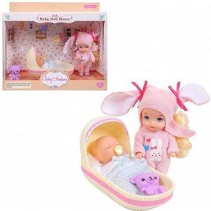 Игровой набор Baby Ardana Дома у сестрёнок (в спальне)52