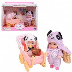 Игровой набор Baby Ardana Дома у сестренок (в спальне с коляской), с аксессуарами31