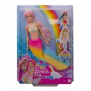 Кукла Mattel Barbie русалочка меняющая цвет с разноцветными волосами48