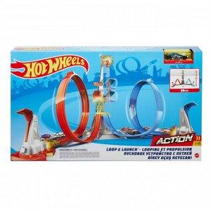 Игровой набор Mattel Hot Wheels Экшн Автотрек Небесное противостояние12