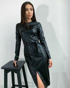 Платье Ткань ЭКО кожа
