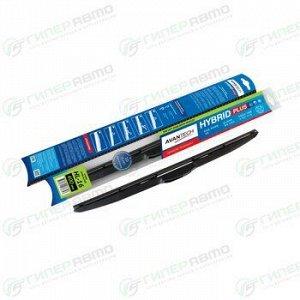 """Щетка стеклоочистителя Avantech Hybrid Plus 400мм (16"""") гибридная, с графитовым напылением, для левого руля, 1 шт"""
