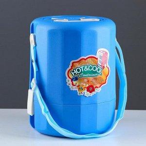 Терсмос для еды DayDays 3 л, сохраняет тепло 4 ч, холод 6 ч, 3 отделения, 21х28 см, микс 5377412