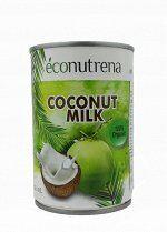 """Органическое кокосовое молоко """" Econutrena"""" 17 % 400 мл ж/б"""