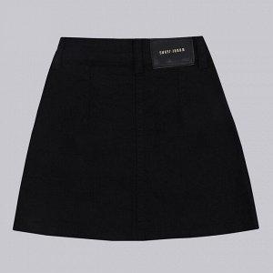 Юбка ДЕВ Страна: Турция Производитель: A-YUGI Материал: 95% хлопок, 5% эластан Пол: ДЕВ Описание товара: Стильная юбка для деочки на пуговицах, модель дополнена карманом и нашивкой.