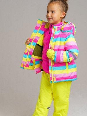 Куртка Состав: Верх- 100% полиэстер, Подкладка- 100% полиэстер, Наполнитель- 100% полиэстер, 250 г/м2  Цвет: голубой, фуксия, светло-розовый, светло-зеленый  Год: 2020 *Зимняя куртка из прочной мембр