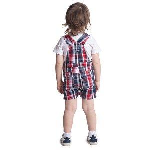 Комплект Состав: 95% хлопок, 5% эластан, 100% хлопок  Цвет: белый, синий, красный  Год: 2020 Комплект сможет разнообразить летний гардероб Вашего ребенка. Для удобства снимания и одевания на горловине