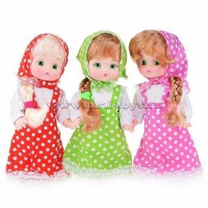 Кукла Сашенька 30см. в пакете