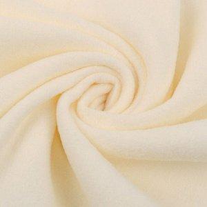 Ткань Флис 50*50см цвет кремовый