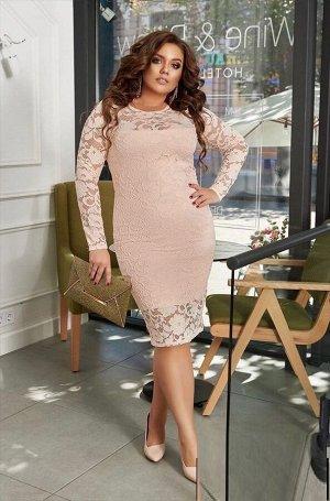 Платье Ткань гипюр + подкладка