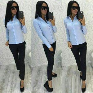 Блузка Ткань Бенгалин