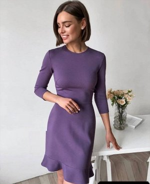 Платье Ткань:замша-спандекс Сзади на замочке
