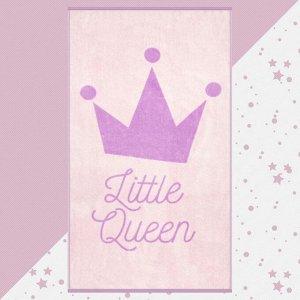 """Полотенце махровое """"Этель"""" Little queen, 70х130 см, 100% хлопок, 420гр/м2"""