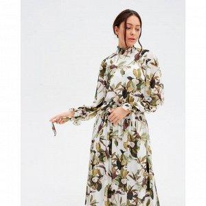 Платье женское миди MIST р.44, молочный