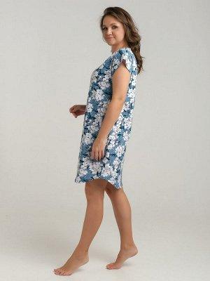 Платье женское голубой