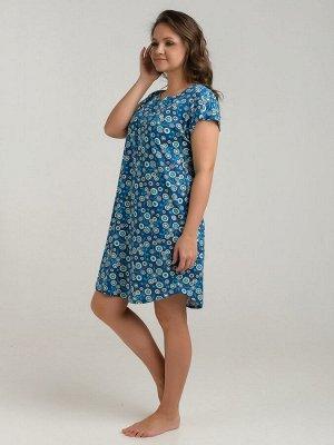 Платье женское индиго