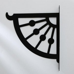 Кронштейн для кашпо, 25 см, «Веер», Greengo