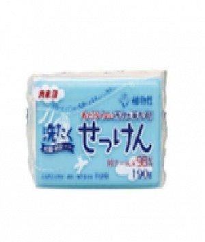 """Хозяйственное мыло """"Laundry Soap"""" для стойких загрязнений с антибактериальным и дезодорирующим эффектом (кусок 190 г) / 24"""