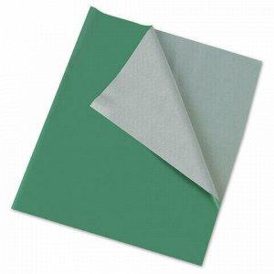 Клеёнка настольная ПИФАГОР для уроков труда, ПВХ, зеленая, 69х40 см, 227057
