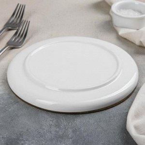 Тарелка обеденная Black style, 20?2,5 см