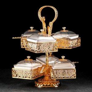 Подставка для десертов «Арка», 6 секции 39?43