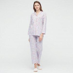 Мягкая пижама  стрейч Joy of Print,светло-пурпурный
