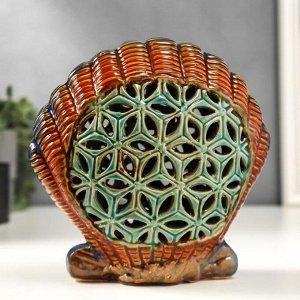 """Сувенир керамика """"Морская ракушка"""" 18,5х19х7,5 см"""