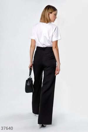 Черные базовые брюки