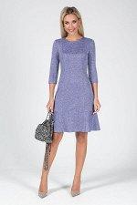Платье Мануэла №3.Цвет:фиолетовый