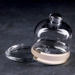 Лимонница Ring, 10 см, с гравировкой и напылением