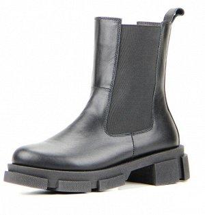 Ботинки Челси натуральная кожа черный