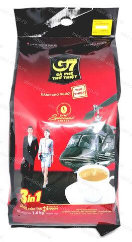 Вьетнамский растворимый кофе 3 в 1 Trung Nguen 100 *16гр