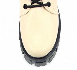 Ботинки натуральная кожа Бежевый