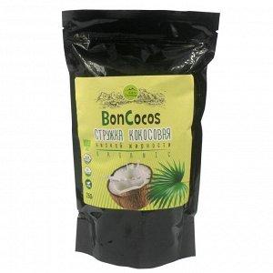Стружка кокосовая низкой жирности  БОНКОКОС, Шри-Ланка, 250г.