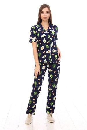 """Пижама с коротким рукавом """"Авокадо"""""""